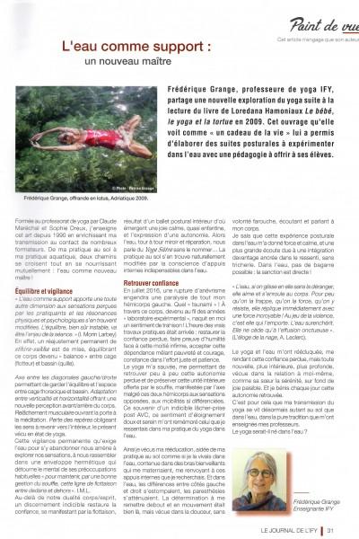 Article journal IFY printemps 2019-2